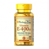 Vitamin E 400iu with Selenium 50mcg - 100v