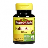 Dinh dưỡng Acid Folic Nature Made cho bà bầu - 250v