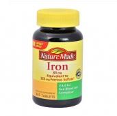 Viên uống bổ xung Sắt - Iron Nature Made 365v