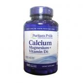 Bổ sung Canxi Magie Vitamin D3 hữu cơ Puritan's Pride - 100v
