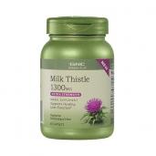Viên uống tăng cường chức năng gan Milk Thistle 1300mg GNC - 60 viên