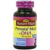Vitamin tổng hợp cho bà bầu Prenatal Multi DHA - 90v