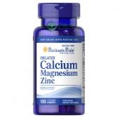 Bổ sung Calcium, Magnesium, Zinc Puritan's Pride - 100v