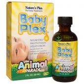 Vitamin tổng hợp cho trẻ Baby Plex hãng Nature's Plus - 60ml
