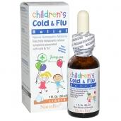Siro trị cảm cúm cho bé Children's Cold & Flu Relief - 30ml