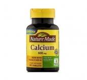 Viên uống bổ xung Calcium 600mg Nature Made - 60v