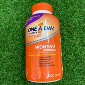 Vitamin cho nữ dưới 50 tuổi - ONE A DAY Womens - 300v