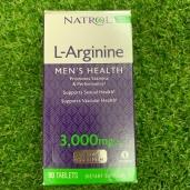 Tăng cường sinh lý nam L-Arginine 3000mg - 90v