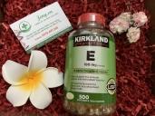 Vitamin E 400 IU Kirkland của Mỹ - 500v